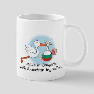 Stork Baby Bulgaria USA 2 Mug