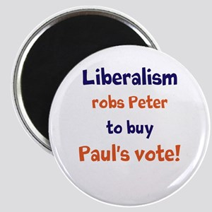 Liberalism Robs Peter Magnet