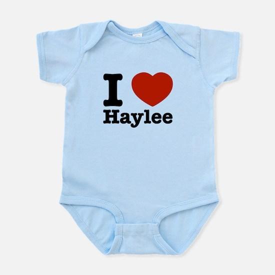 I love Haylee Infant Bodysuit