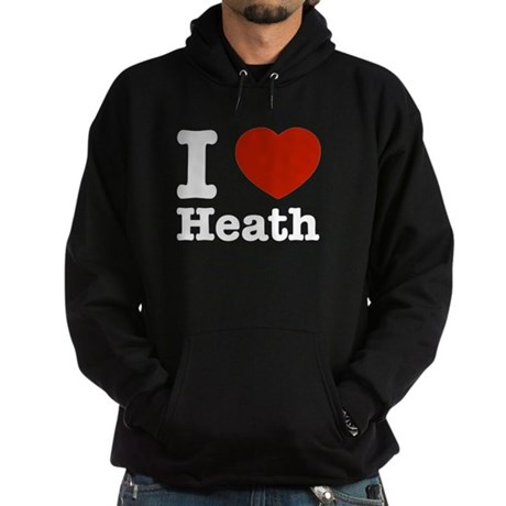 I love Heath Hoodie (dark)