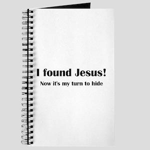 I found Jesus! Journal