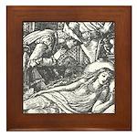 Crane's Sleeping Beauty Framed Tile