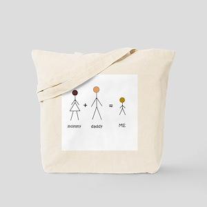 Biracial Pride/ Interracial Pride Tote Bag