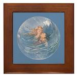 Tarrant's Little Mermaid Framed Tile
