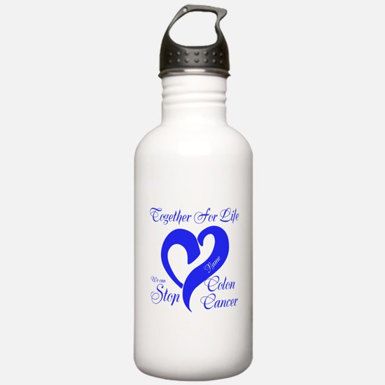 Personalize Front Water Bottle