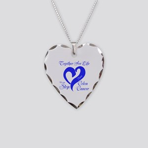 Personalize Front Necklace Heart Charm