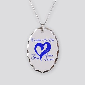 Personalize Front Necklace Oval Charm