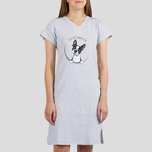Boston Terrier IAAM Full Women's Nightshirt