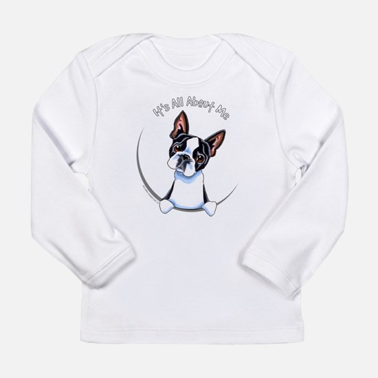 Boston Terrier IAAM Full Long Sleeve Infant T-Shir