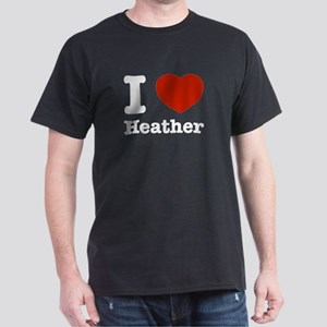 I love Heather Dark T-Shirt