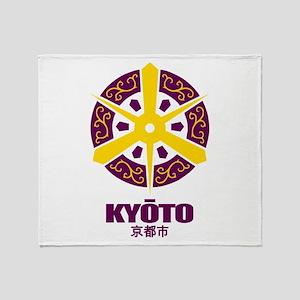 """Kyoto"" Throw Blanket"