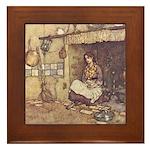 Dulac's Cinderella Framed Tile