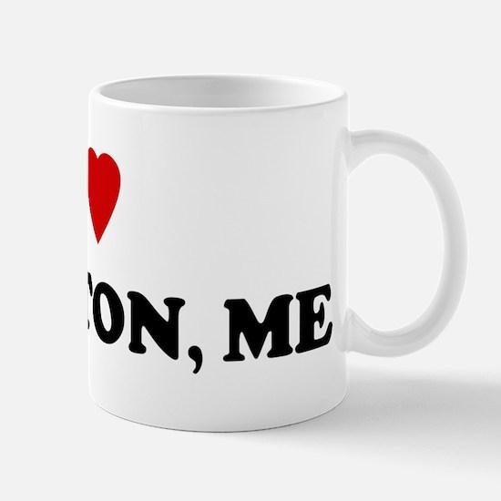 I Love Lewiston Mug