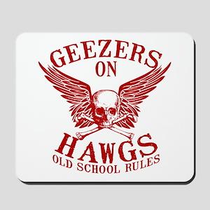 Geezers on Hawgs Mousepad