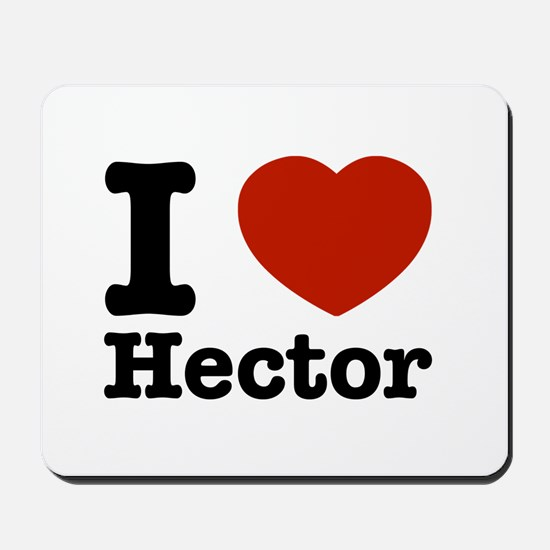 I love Hector Mousepad