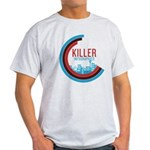 Killer Infographics Rounded Logo Light T-Shirt