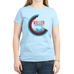Killer Infographics Rounded Logo Women's Light T-S