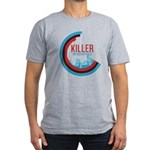 Killer Infographics Rounded Logo Men's Fitted T-Sh