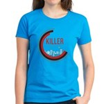 Killer Infographics Rounded Logo Women's Dark T-Sh