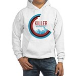 Killer Infographics Rounded Logo Hooded Sweatshirt
