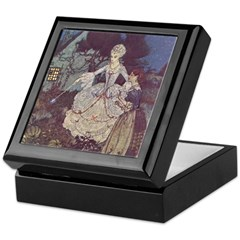 Dulac's Cinderella & Godmother Keepsake Box