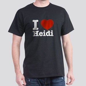I love Heidi Dark T-Shirt