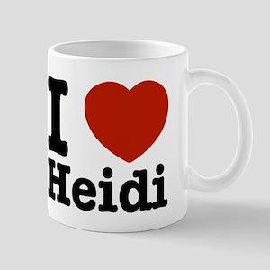 I love Heidi Mug