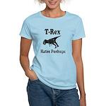 Vintage T-Rex hates Pushups Women's Light T-Shirt