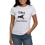 Vintage T-Rex hates Pushups Women's T-Shirt