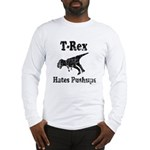 Vintage T-Rex hates Pushups Long Sleeve T-Shirt