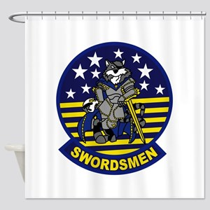 VF-32 Swordsment Shower Curtain