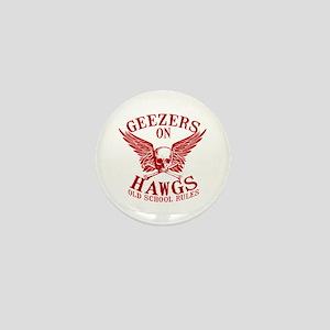 Geezers on Hawgs Mini Button