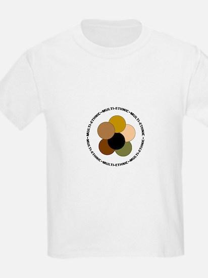 Multiethnic/ Multracial Pride Kids T-Shirt