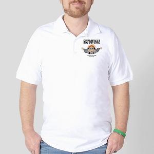 3-skydiving Golf Shirt