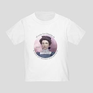 Obama for Women: Toddler T-Shirt