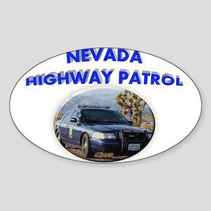 Nevada Highway Patrol Sticker (Oval)