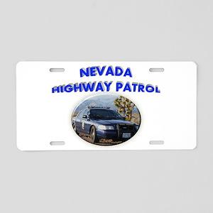 Nevada Highway Patrol Aluminum License Plate