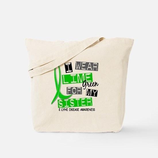 I Wear Lime 37 Lyme Disease Tote Bag