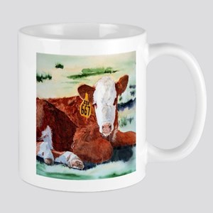 Hereford Calf Mug