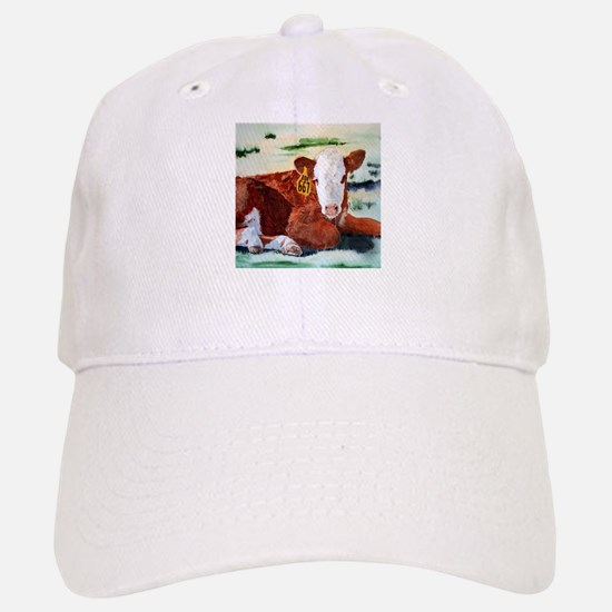 Hereford Calf Baseball Baseball Cap