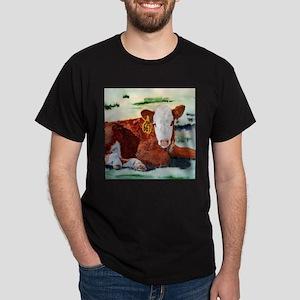 Hereford Calf Dark T-Shirt