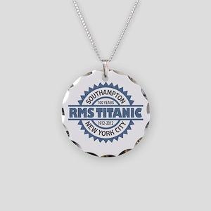 Titanic Sinking Anniversary Necklace Circle Charm
