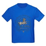 Celtic Horse Coin Kids Dark T-Shirt