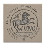 Celtic Horse Coin Tile Coaster