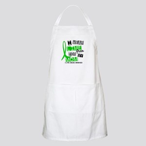 I Wear Lime 37 Lyme Disease Apron