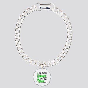 I Wear Lime 37 Lyme Disease Charm Bracelet, One Ch