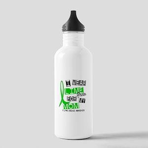 I Wear Lime 37 Lyme Disease Stainless Water Bottle