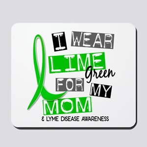 I Wear Lime 37 Lyme Disease Mousepad