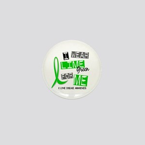 I Wear Lime 37 Lyme Disease Mini Button