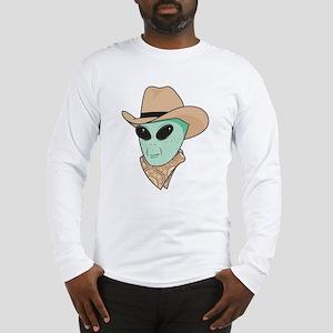 Cowboy Alien Long Sleeve T-Shirt